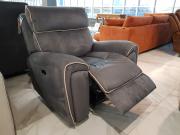 Кресло Маркезано с реклайнером, ткань  каталог с ценами