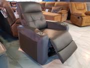 Кресло-Реклайнер Джинато (Натуральная Кожа, Алькантара) в Москве