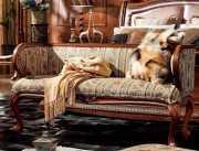 Банкетка Монтана B (Классика, Массив дерева) каталог мебели с ценами