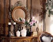 Зеркало на стену Дакота (Классика, дерево, металл) интернет магазин