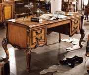 Письменный стол Дакота А (Массив дерева, резные ножки) изображение
