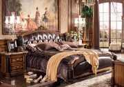 Кровать Дакота B (Классика, Натуральная Кожа) изображение