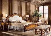 Кровать Дакота C (Классика, ткань, массив дерева) каталог мебели с ценами